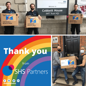 SHS Partners charity face mask donation